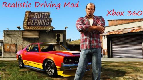 Мод реалистичного управления для GTA 5