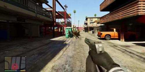 GTA 5 вид от первого лица на Xbox 360