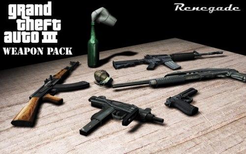 Мод на оружие для GTA 3
