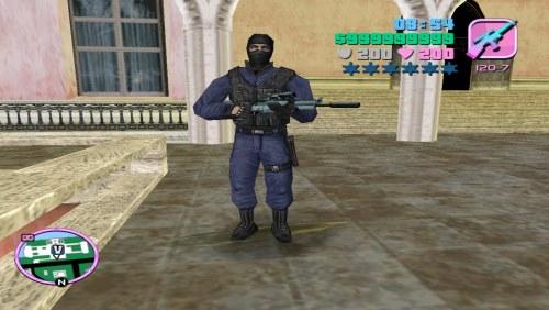 Спецназовец скин для GTA VC