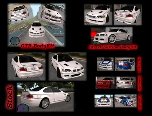 Авто bmw m3 для ГТА СА
