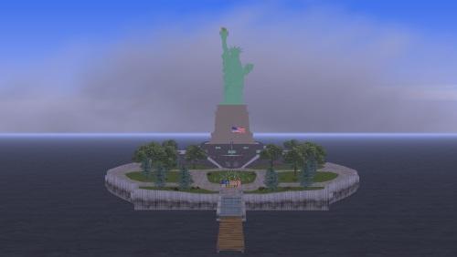 Статуя свободы для ГТА 3
