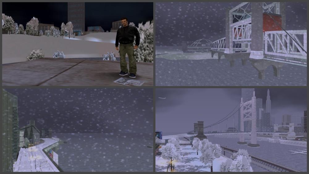 GTA 3 Зима