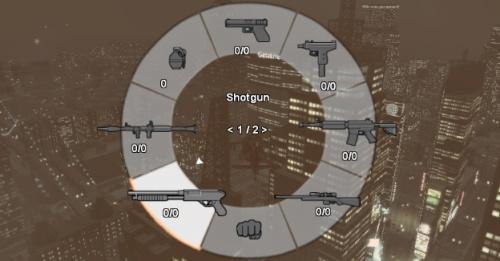 Переключение оружия из GTA 5 для GTA 4