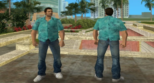HD Скин Tommy Vercetti для GTA Vice City