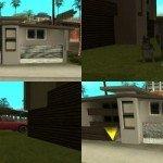 Мод GTA San Andreas Новый дом для CJ в Santa Maria Beach