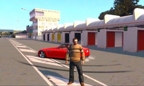GTA 4 Мод Enna GTR2 Map