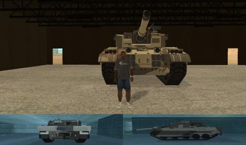 Танк из GTA 5 для GTA San Andreas