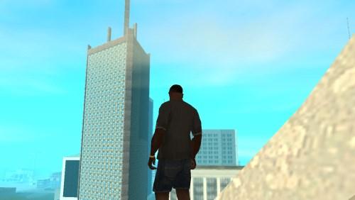 GTA San Andreas мод небоскрёба в San Fierro