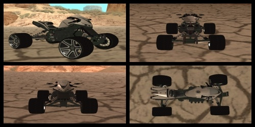 GTA San Andreas ATV Quad