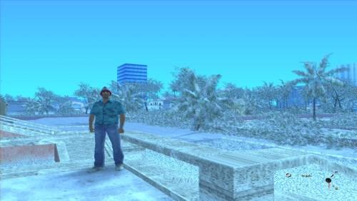 Мод зимы для GTA VC