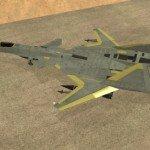 Истребитель ADFX-02 для GTA San Andreas