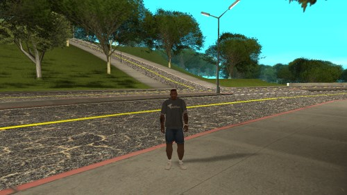GTA San Andreas New roads San Fierro