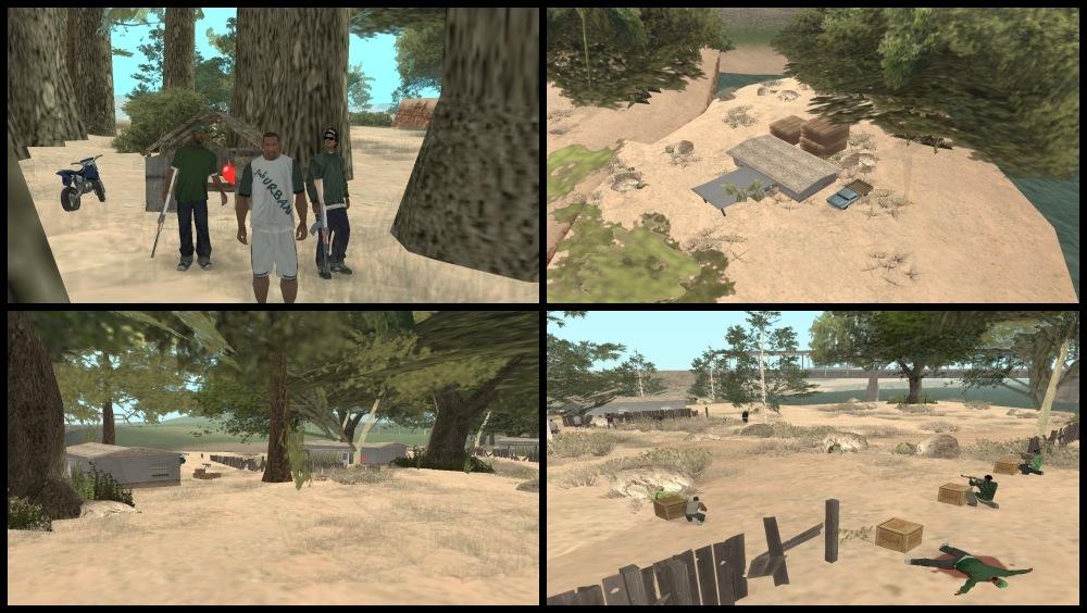 Мод Зеленый Остров для GTA San Andreas