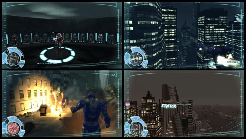 Мод Железный человек для GTA 4