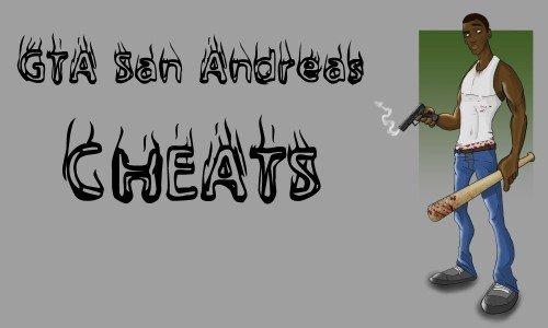 Новые чит Коды на GTA San Andreas