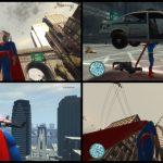 Супергерой комиксов Супермен мод для GTA 4