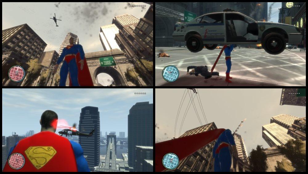 GTA 4 Супермен Мод