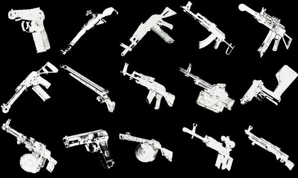 GTA Vice City Советское Оружие