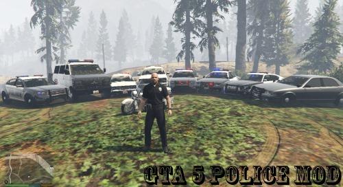 скачать моды для гта 5 полицейский