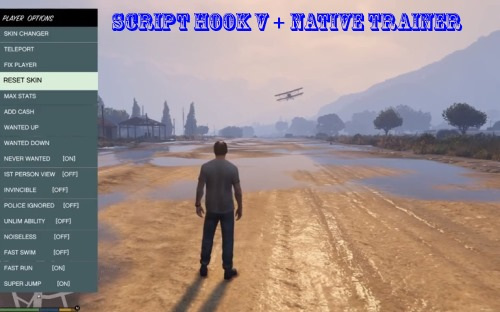 Gta v pc: simple trainer and script hook v mod + how to install.
