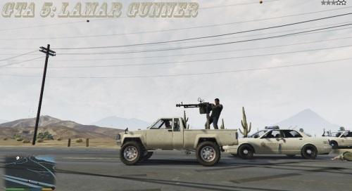 Мод Ламар пулеметчик для ГТА 5