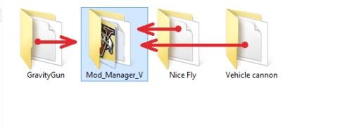 Папка с программой Mod Manager V