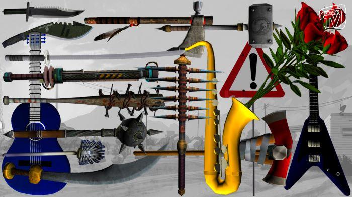 Альтернативное оружие для ГТА 5