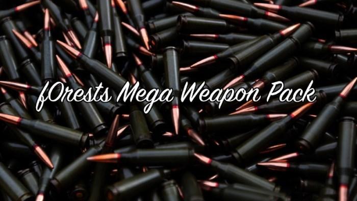 Большой сборник разного оружия для ГТА 5