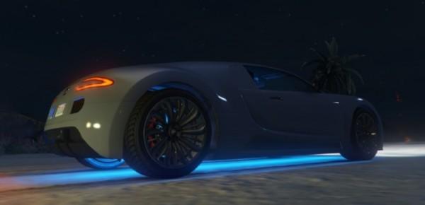 Неоновые огни для всех машин в ГТА 5
