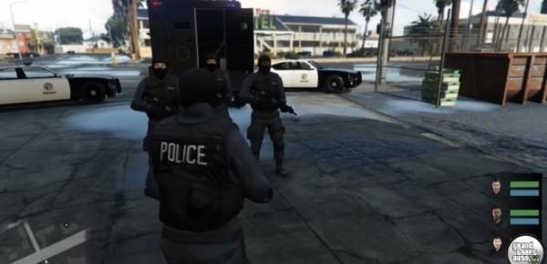GTA 5: SWAT Mod
