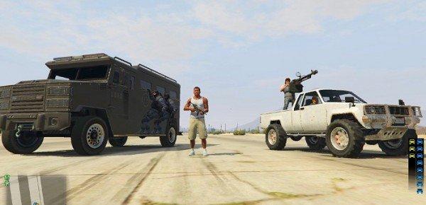 Отряды телохранителей для ГТА 5