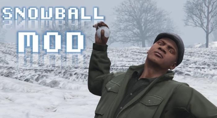 Играть в снежки для ГТА 5