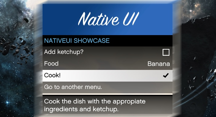 NativeUI для ГТА 5