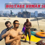 Hostage Human Shield — Заложники в GTA 5
