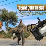 TF2 Heavy Minigun — Миниган для GTA 5