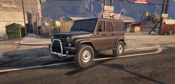 Машина Уаз Барс 3159 для ГТА 5