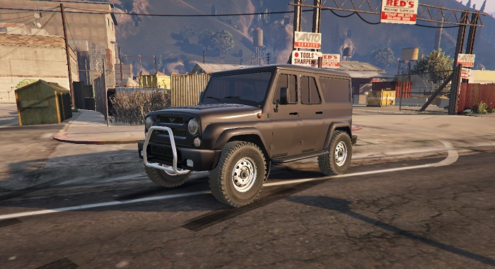 Машина Уаз Барс для ГТА 5