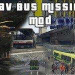 Bus Missions Mod для GTA 5