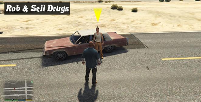 Грабить и продавать наркотики в ГТА 5