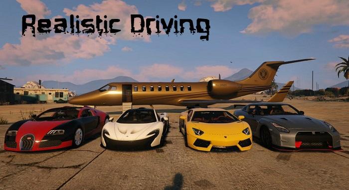 Реалистичные характеристики машин в GTA 5