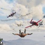 Planes Hails — Падающие самолеты в GTA 5