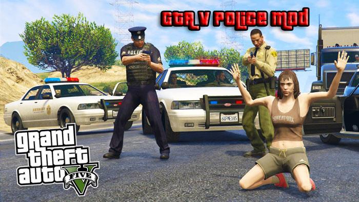 Полицейский мод на ГТА 5 для ПК
