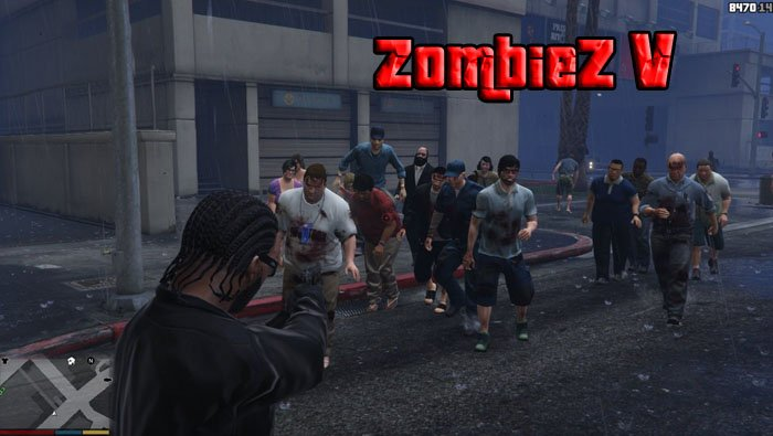 ГТА 5 зомби апокалипсис