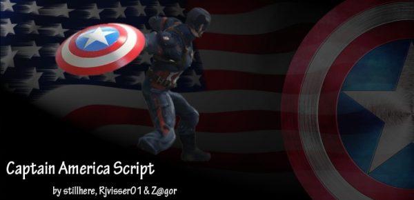 Капитан Америка для ГТА 5