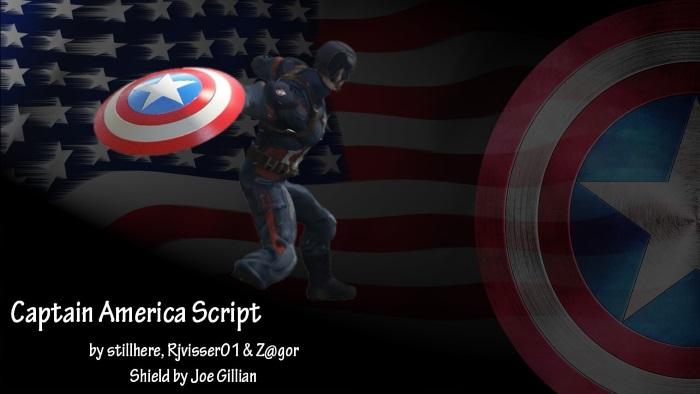Капитан Америка для ГТА 5 Версия: 2.4