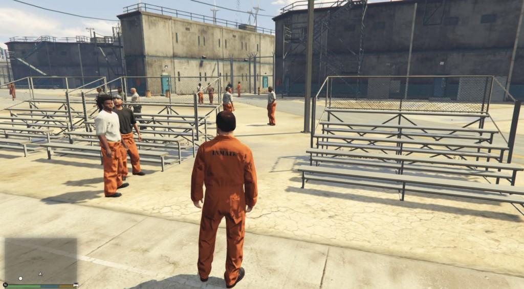 Миссия с тюрьмой в ГТА 5