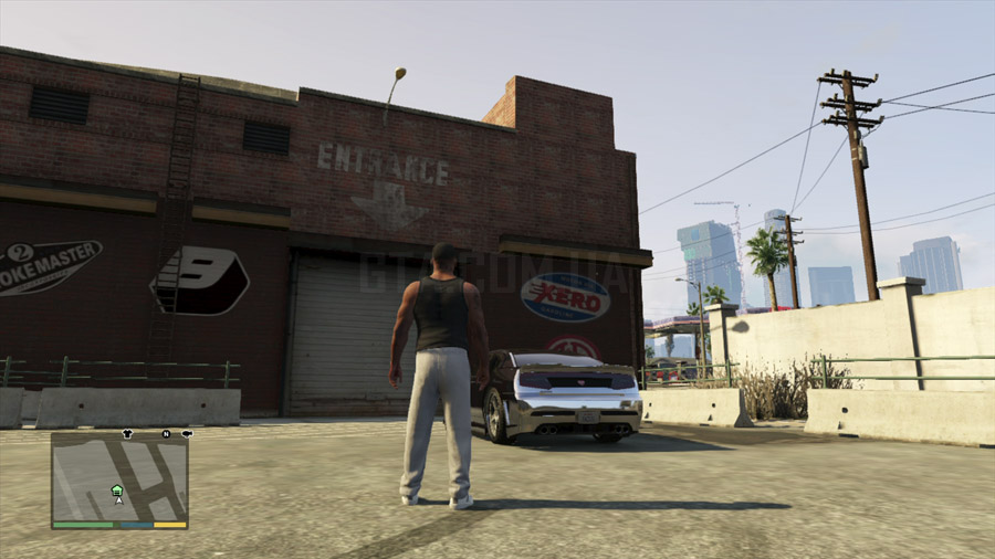 Где в GTA 5 купить гараж