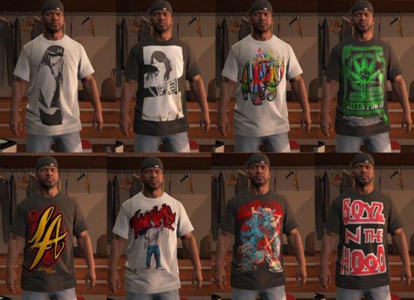 Моды на одежду для GTA 5