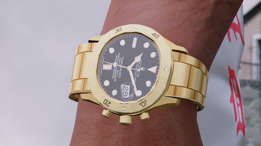 Часы Ролекс для Франклина в ГТА 5